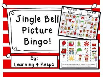 Jingle Bell Bingo! By Learning 4 Keeps