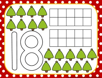 Jingle Bell Jamboree: Christmas Math Work Stations for PreK/Kinder (CC Aligned)