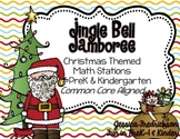 Jingle Bell Jamboree: Christmas Math Work Stations for Pre