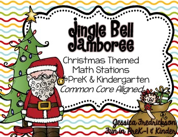 Jingle Bell Jamboree: Christmas Math Work Stations for Pre