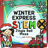 Jingle Bell Maze Winter Express Christmas Read Aloud STEM Activity