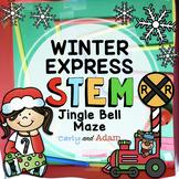 Jingle Bell Maze Polar Express Christmas READ ALOUD STEM™ Activity