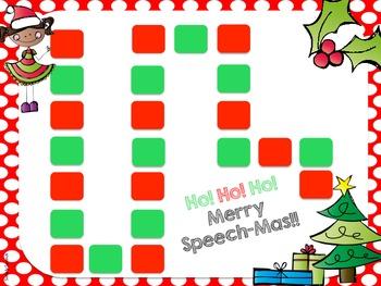 Jingle Bell Speech! A Christmas Themed Articulation Unit
