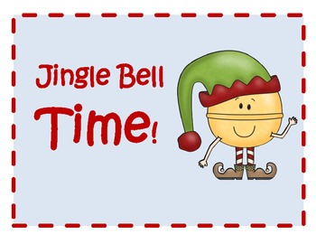 Jingle Bell Time! Telling time activity pack.