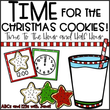 Jingle Bell Time! {time to the hour/half hour}