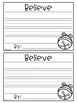 Jingle Bell Writing Craftivity- I Believe!