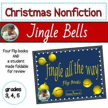 Jingle Bells: Christmas Themed Daily Work Flip Book for Non-Fiction, Math, & ELA