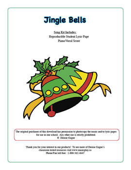 Jingle Bells Dance and Game (includes mp3 files)