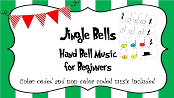 Jingle Bells Hand Bell Music for Beginners