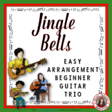 Christmas Music Ensemble: Jingle Bells Guitar Trio