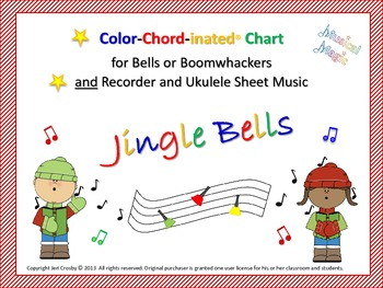 Jingle Bells Musi-Kit for Bells, Boomwhackers, Voice, Reco