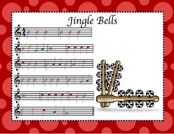 Jingle Bells (Recorder Sheet/Audio Music)