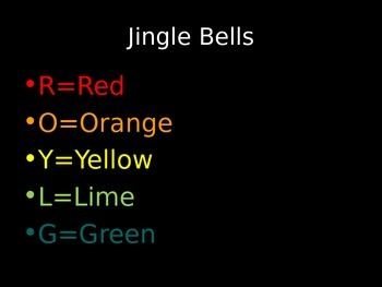 Jingle Bells for Boomwhackers