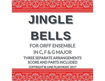 Jingle Bells for Orff Ensemble