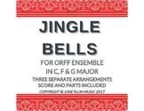 Jingle Bells for Orff or Marimba Ensemble