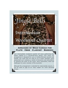 Jingle Bells for Woodwind Quartet