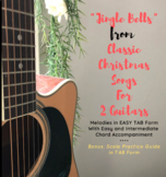 Jingle Bells from Classic Christmas Songs for 2 Guitars (E