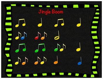 Jingle Boom (Black Background)