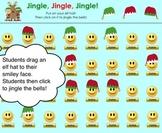 """""""Jingle, Jingle, Jingle"""" Elf Hat SMART Board Attendance Ac"""