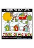 Jingle all the way~Christmas~Santa Clipart Collection