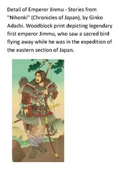 Jimmu Emperor of Japan Word Search