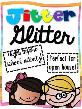 photograph relating to Jitter Glitter Poem Printable referred to as Jitter Glitter Worksheets Instruction Components TpT