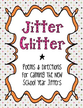 Jitter Glitter Poems for Kindergarten