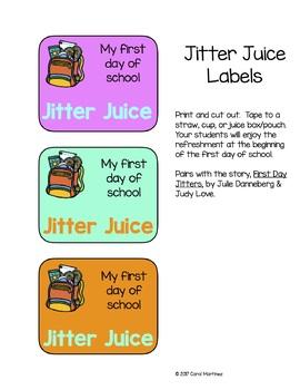 Jitter Juice Labels {freebie}