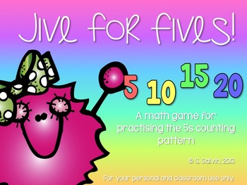 Jive for Fives! A skip-counting game