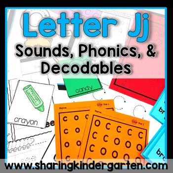 Letter Jj {Print & Play Pack}