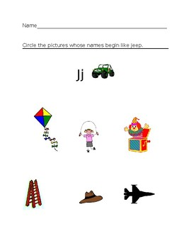 Jj Jeep Homework Sheet #1