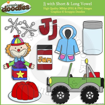 J Short and Long Vowel