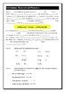 Jnr Science - Chemistry Part C - Everyday Reactions