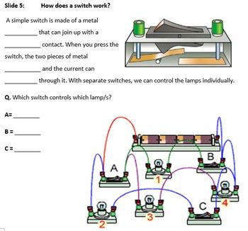 Jnr Science - Physics - Electrical Circuits