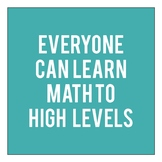 Jo Boaler's Math Class Norms Posters