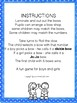 Jo-Jo bows or Dickie bows - dice game and worksheets - recognise numbers 1-6.