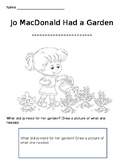 Jo MacDonald coloring sheet