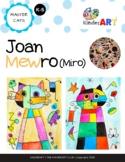 Joan Mewro (Miro) Art Lesson Plan for K-6
