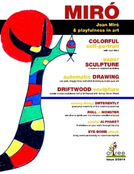 Joan Miro and playfulness in art: automatic drawing and portraits.
