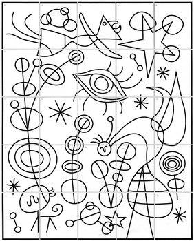 Joan Miro Mural