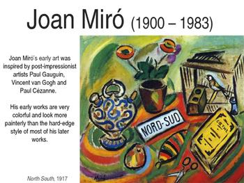 Joan Miro PPT, K-8