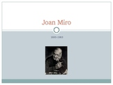Joan Miro Power Point Assessment