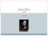 Joan Miro Power Point Assessment