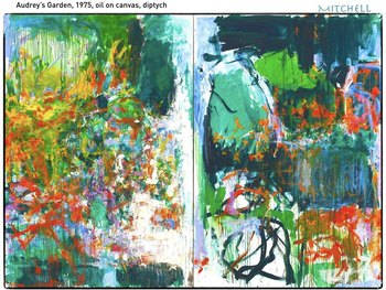 Joan Mitchell Art SHOW + TEST = 224 Slides Abstract Expression Modern Art
