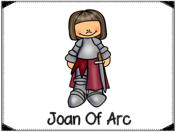 Joan Of Arc Graphic Organizer