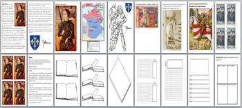 Joan of Arc Activity Pack