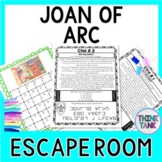 Joan of Arc ESCAPE ROOM: Hundred Years' War
