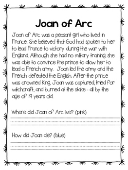 Joan of Arc - Find the Evidence and Bio