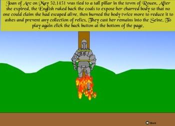 Joan of Arc Game - Bill Burton