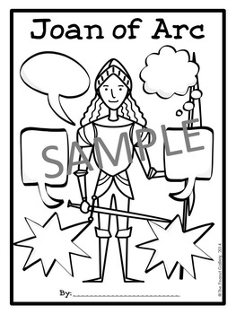 Joan of Arc Graphic Organizers